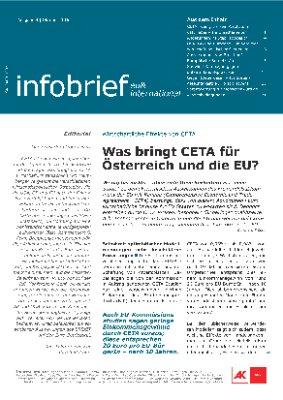 infobrief eu & international - Oktober 2016