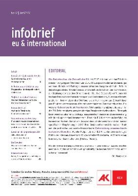infobrief eu & international - Juni 2017