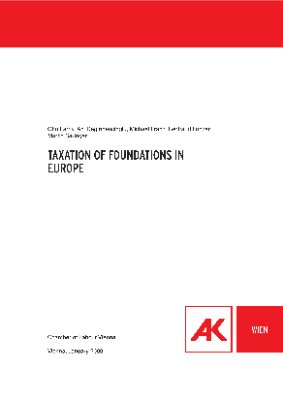 Taxation of foundations in Europe