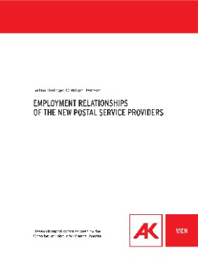 Employment relationships of the new postal service providers