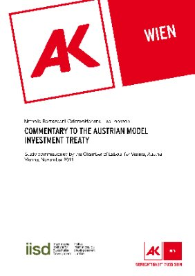 Commentary to the Austrian model investment treaty