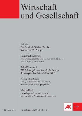 Wirtschaft und Gesellschaft - 2016 Heft 3