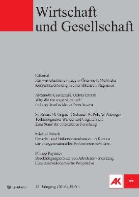 Wirtschaft und Gesellschaft - 2016 Heft 4
