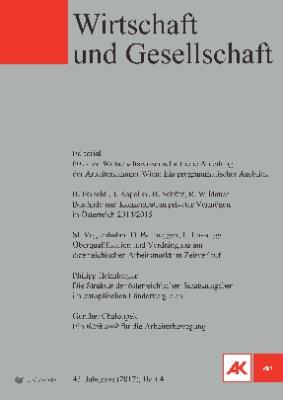 Wirtschaft und Gesellschaft - 2017 Heft 4