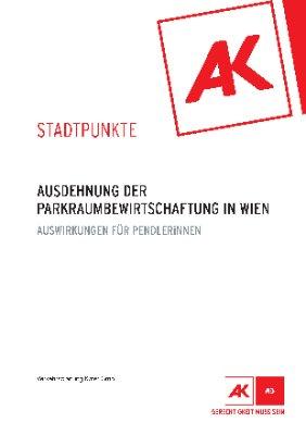 Ausdehnung der Parkraumbewirtschaftung in Wien