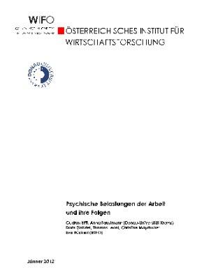 Psychische Belastungen der Arbeit und ihre Folgen