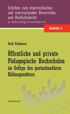 Öffentliche und private pädagogische Hochschulen im Gefüge des postsekundären Bildungssektors