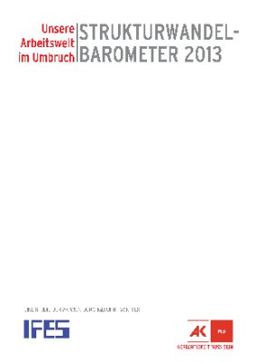 Strukturwandelbarometer 2013