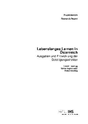 Lebenslanges Lernen in Österreich