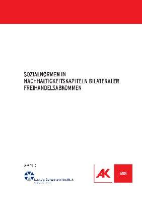 Sozialnormen in Nachhaltigkeitskapiteln bilateraler Freihandelsabkommen