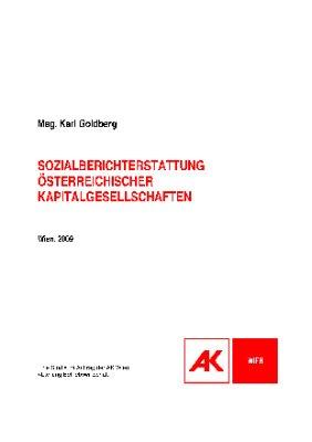 Sozialberichterstattung österreichischer Kapitalgesellschaften