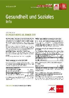 Gesundheit & Soziales - Jänner 2019