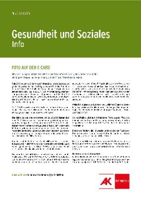 Gesundheit & Soziales - April 2019