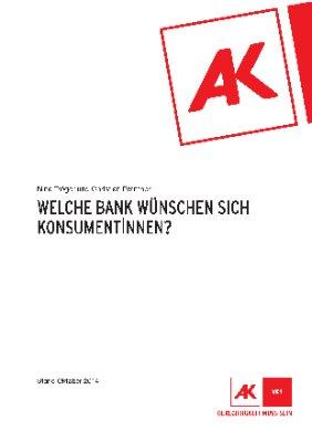 Welche Bank wünschen sich KonsumentInnen?