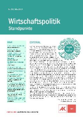 Wirtschaftspolitik - Standpunkte 2019 Heft 33