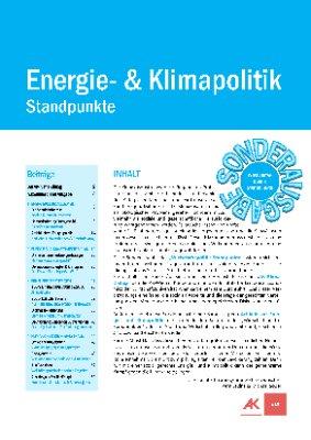 Wirtschaftspolitik - Standpunkte 2019 Sonderausgabe Energie- & Klimapolitik