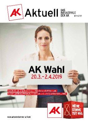 AK Wahl 20.3. - 2.4.2019