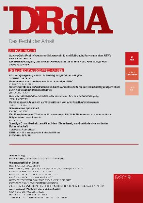 Das Recht der Arbeit - Heft 385