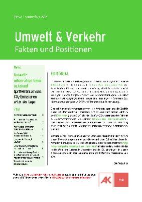 Umweltinformation beim Autokauf