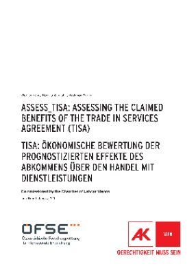 Assess_Tisa: Assessing the claimed benefits of the Trade in Services Agreement (TiSA)
