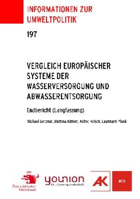 Vergleich europäischer Systeme der Wasserversorgung und Abwasserentsorgung