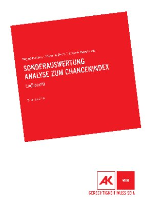 Sonderauswertung Analyse zum Chancenindex