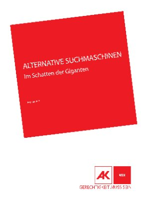 Alternative Suchmaschinen