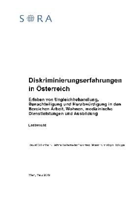 Diskriminierungserfahrungen in Österreich