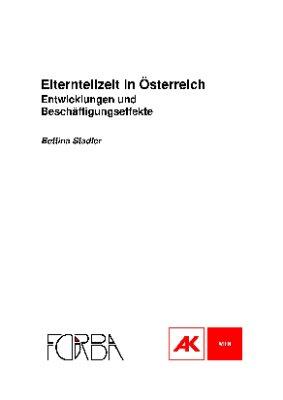 Elternteilzeit in Österreich