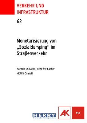 """Monetarisierung von """"Sozialdumping"""" im Straßenverkehr"""