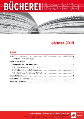 AK-Bücherei Newsletter - Jänner 2019